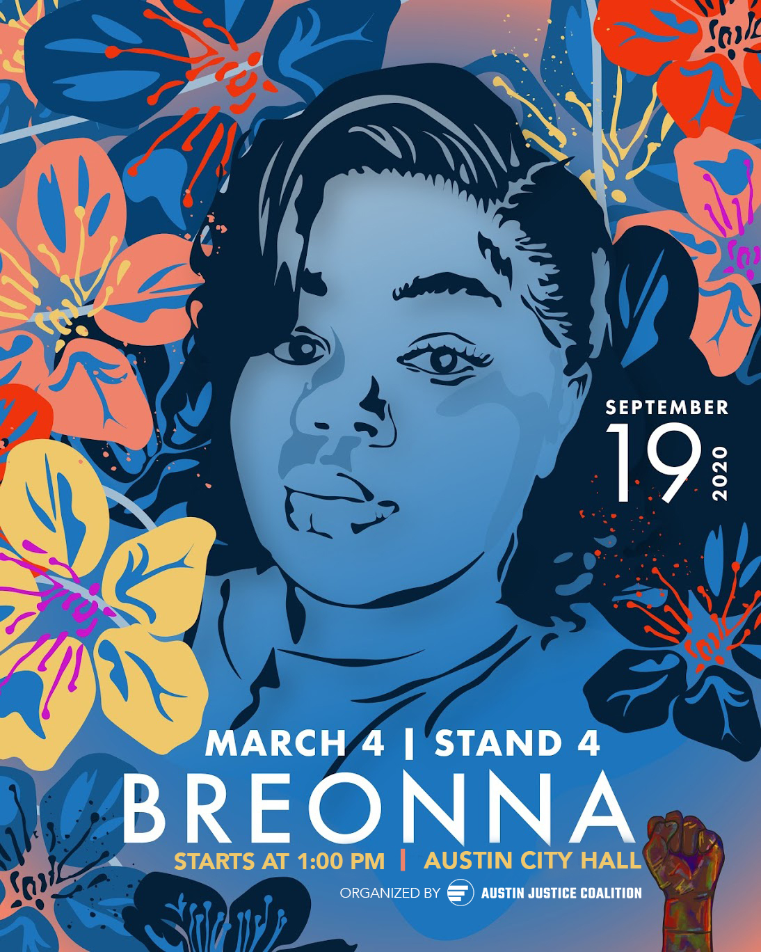 March 4 Stand 4 Breonna Taylor March Austin Justice Coalition